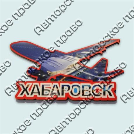 Купить магнитик самолет коллаж Хабаровск - фото 10246