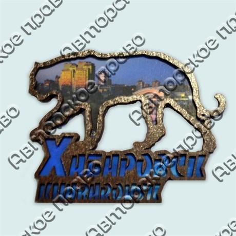 Купить магнитик Тигр коллаж Хабаровск с видами города - фото 10449