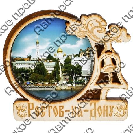 """Магнит с гравировкой """"Арка с Колоколом"""" с символикой Вашего города - фото 54634"""