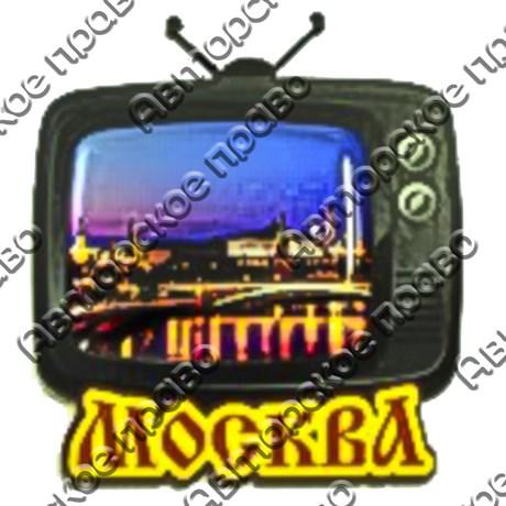 Магнит со смолой Телевизор с символикой Вашего города - фото 69319