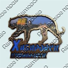 Купить магнитик Тигр коллаж Хабаровск с видами города