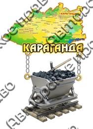 Магнит Качели Карта Вагонетка