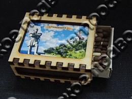 Спичечный коробок на магните с картинкой