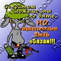 """Магнит виниловый """"23 февраля"""" 5"""