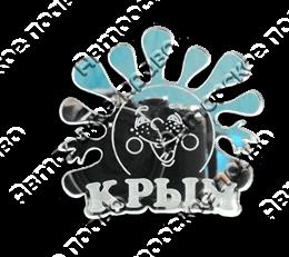 Магнит зеркальный Крым 19