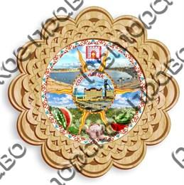 Тарелка панно 6 - 250мм Соль - Илецк