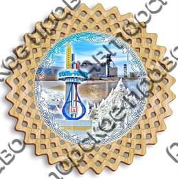 Тарелка панно 5 - 250мм Соль - Илецк