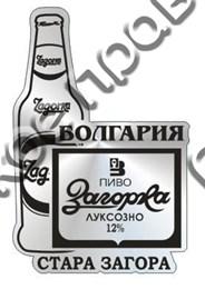 Магнит зеркальный Пиво ЗАГОРА Самара