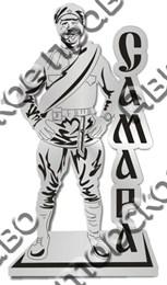 Магнит зеркальный Памятник Сухову Самара
