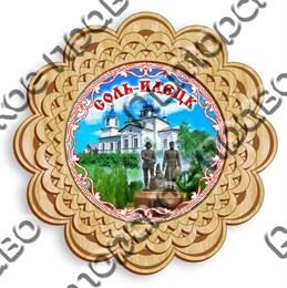 Тарелка панно 3 - 150мм Соль - Илецк