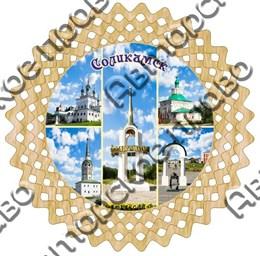 Тарелка панно 6 Соликамск