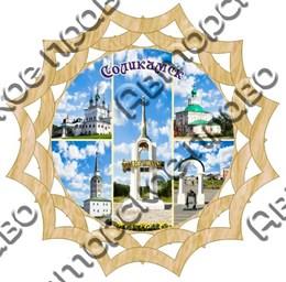 Тарелка панно 3 Соликамск