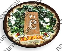 магнит цветной овал02 Ульяновск