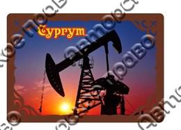 Купить купюрницу из дерева нефтяная вышка Сургут