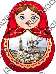 Купить шкатулку из дерева Матрешка Тобольск