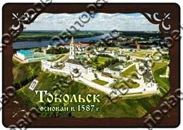 Купить купюрницу из дерева с видами города Тобольск