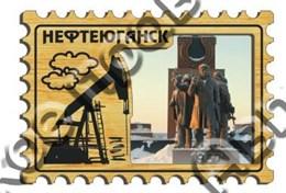 Магнит с гравировкой Марка вид 1 Нефтеюганск