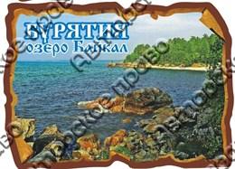 """Магнит цветной """"Свиток"""" г.Байкал4"""