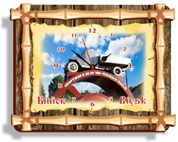 Часы бамбук Бийск 01