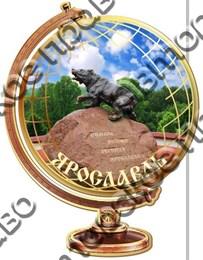 """Магнит цветной""""Глобус"""" г.Ярославль02"""