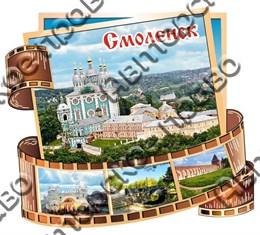 """Магнит цветной""""Фотопленка"""" г.Смоленск"""