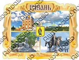 """Магнитцветной """"Свиток коллаж"""" г.Рязань"""