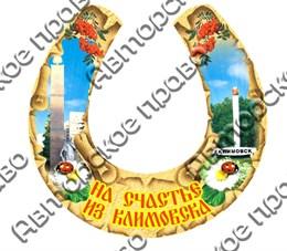 магнит цветной подкова г.Климовск
