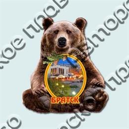 Купить магнитик Медведь с символом вашего города