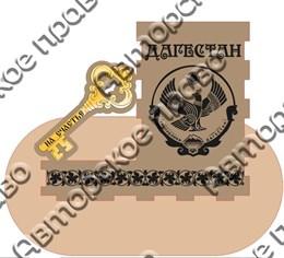 Карандашница с зеркальной деталью большая - Ключик г.Дагестан