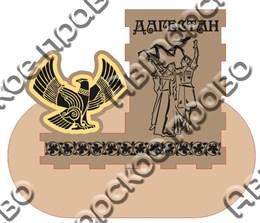 Карандашница с зеркальной деталью большая - Орел г.Дагестан