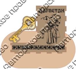 Карандашница с зеркальной деталью большая - Ключик 1 г.Дагестан