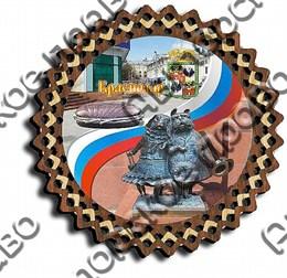 Тарелка-панно 150 мм г.Краснодар 10
