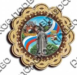 Тарелка-панно 150 мм г.Краснодар 3