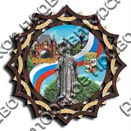 Тарелка-панно 150 мм г.Краснодар 2
