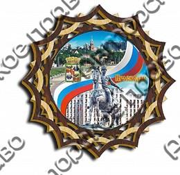 Тарелка-панно 150 мм г.Краснодар 5
