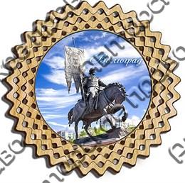 Тарелка-панно 150 мм г.Волгоград 2