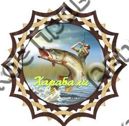 Тарелка-панно 150мм вид 4 Харабали