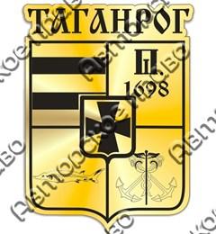 Магнит зеркальный Герб Таганрог