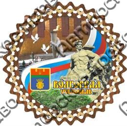 Тарелка-Панно 150мм Волгоград 3