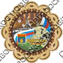 Тарелка-Панно 150мм Волгоград 7