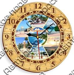 Часы 3 Кабардинка 25 см