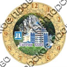 Часы деревянные 250мм, Горячий ключ 3