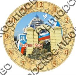 Часы деревянные 150мм, Горячий ключ 2