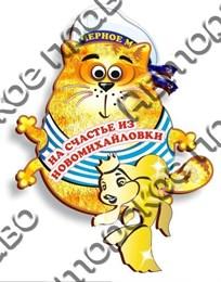 """Магнит""""Морской кот с зеркальной деталью"""" Новомихайловка 1"""