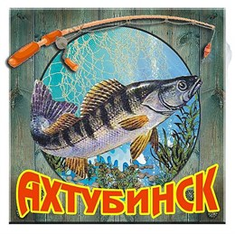 """Магнит """"Рыба"""" г.Ахтубинск 03"""