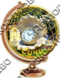 Магнит Глобус с символикой Сочи