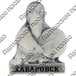 Магнит из мармолита Кутх с бубном и глазками Хабаровск арт 25240