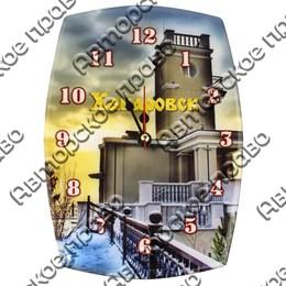 Часы бочка Вид 2 с достопримечательностями Вашего города