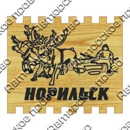Спички с гравировкой Оленевод с символикой Вашего города