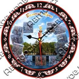 Часы - панно круглые 20см вид 4 с видами, достопримечательностями или символикой Вашего города